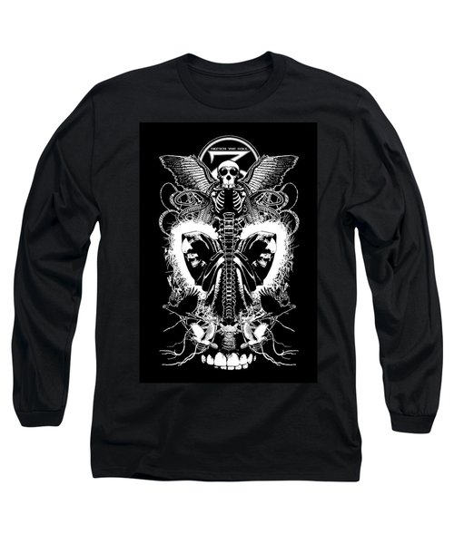 Spine Of Mine Long Sleeve T-Shirt by Tony Koehl