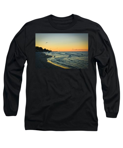 Spirit's Journey Long Sleeve T-Shirt by Sara Frank