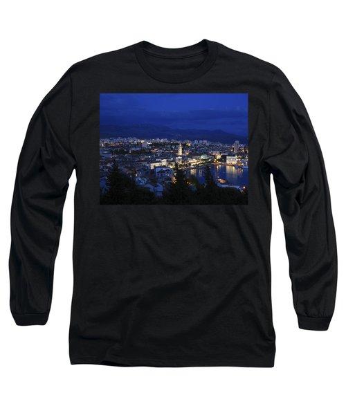 Long Sleeve T-Shirt featuring the photograph Split Croatia by David Gleeson