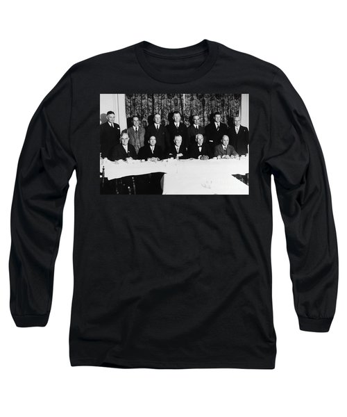 Sports Luncheon, 1930 Long Sleeve T-Shirt by Granger