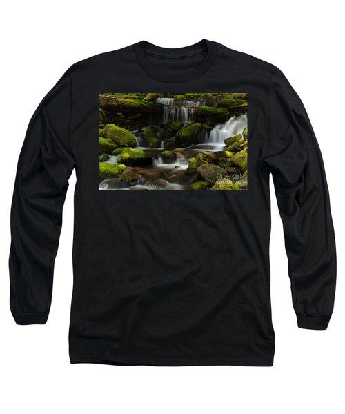 Spotlights Long Sleeve T-Shirt by Mike Reid