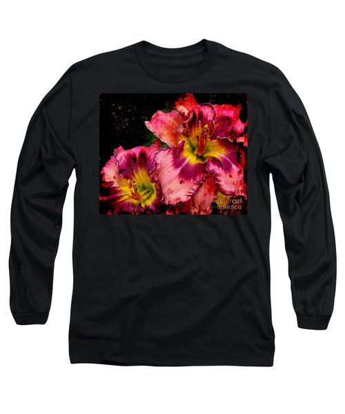 Long Sleeve T-Shirt featuring the photograph Spring Blooms by Davandra Cribbie