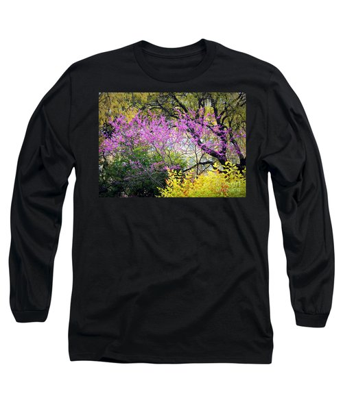 Spring Trees In San Antonio Long Sleeve T-Shirt