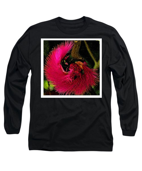 St Kitts Flora Long Sleeve T-Shirt by Cindy Manero