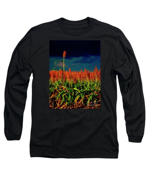 Stand Up And Sing Long Sleeve T-Shirt by Joe Jake Pratt