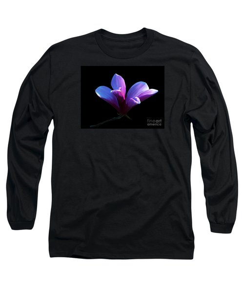 Steel Magnolia Long Sleeve T-Shirt by Patricia Griffin Brett