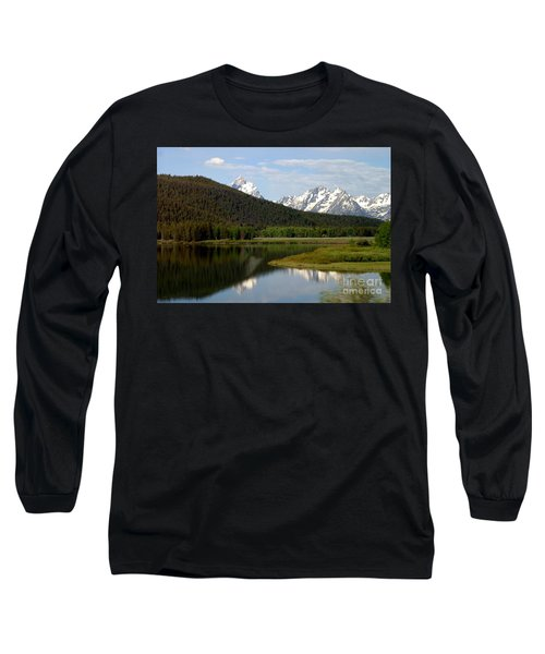 Still Waters Long Sleeve T-Shirt by Living Color Photography Lorraine Lynch