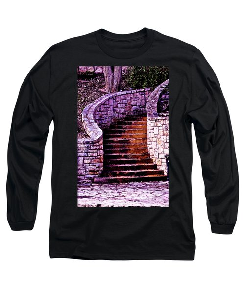 Stone Staircase Long Sleeve T-Shirt