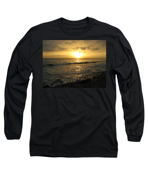 Long Sleeve T-Shirt featuring the photograph Storm At Sea by Bruce Carpenter