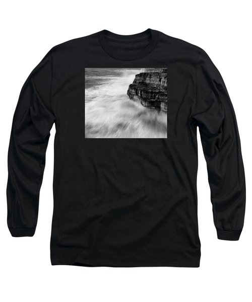 Long Sleeve T-Shirt featuring the photograph Stormy Sea 1 by Pedro Cardona