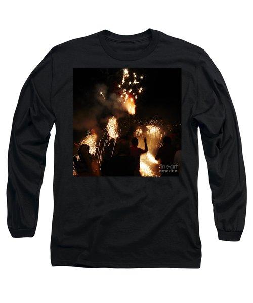 Street Fire Long Sleeve T-Shirt