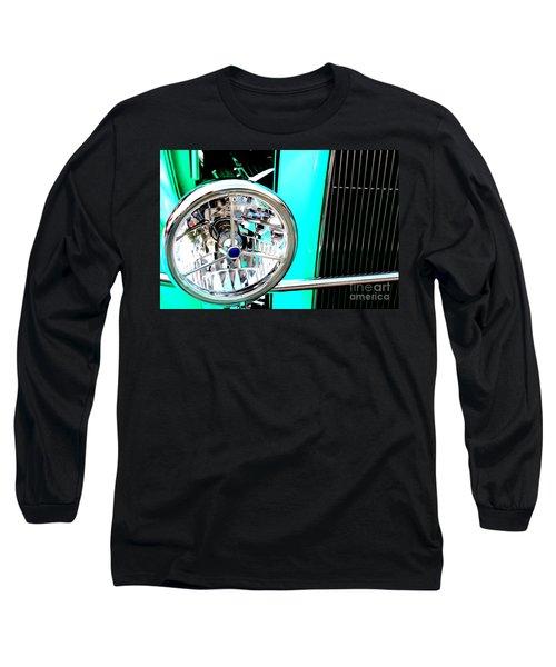 Long Sleeve T-Shirt featuring the digital art Street Rod Beauty by Tony Cooper