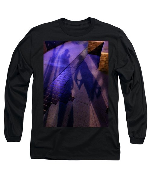 Street Shadows 004 Long Sleeve T-Shirt