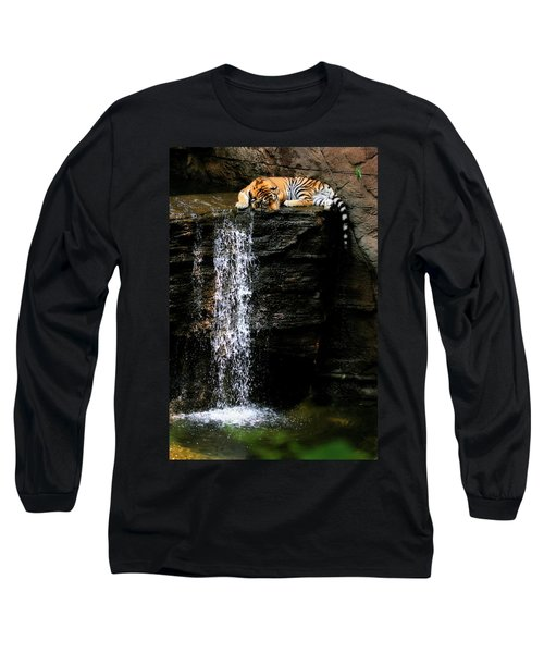 Strength At Rest Long Sleeve T-Shirt by Angela Rath