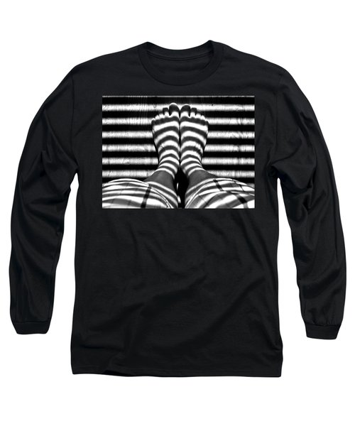 Stripe Socks? Long Sleeve T-Shirt