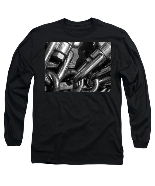 Long Sleeve T-Shirt featuring the photograph Strong by David Pantuso