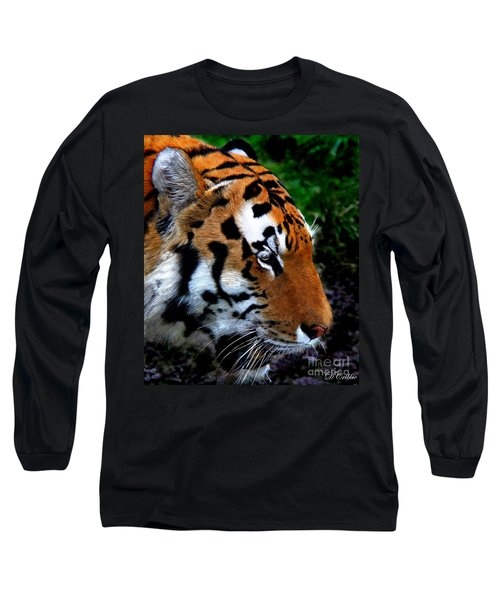 Long Sleeve T-Shirt featuring the photograph Sumatran Strength by Davandra Cribbie