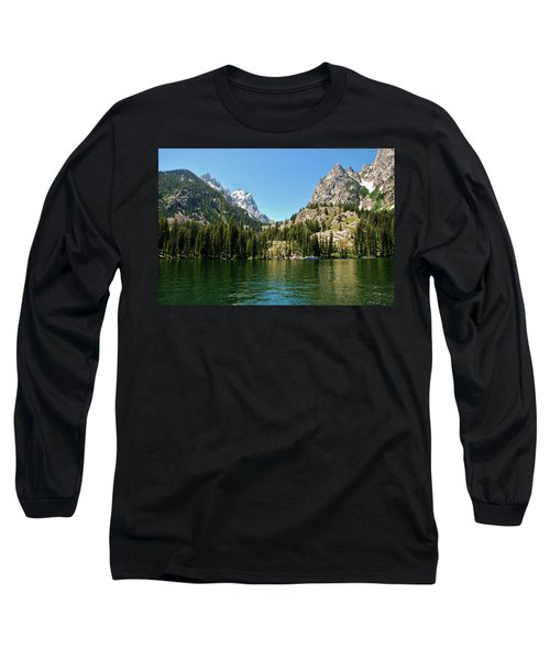 Summer Day At Jenny Lake Long Sleeve T-Shirt