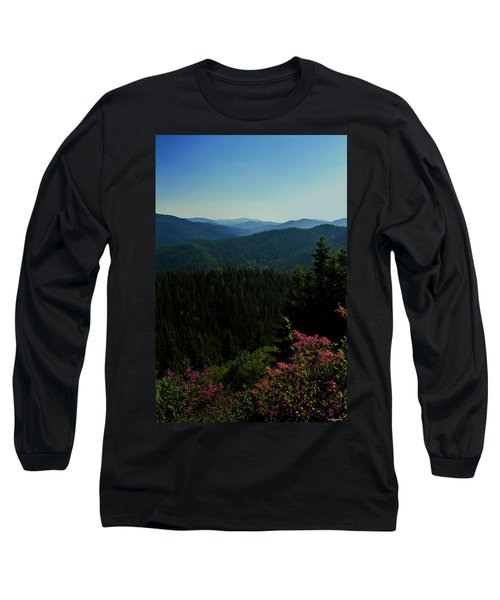 Summer In The Mountains Long Sleeve T-Shirt