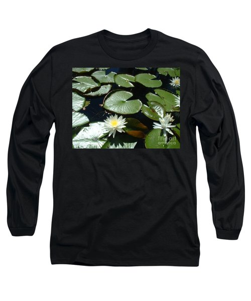Long Sleeve T-Shirt featuring the photograph Sun Lovers by Mark Robbins