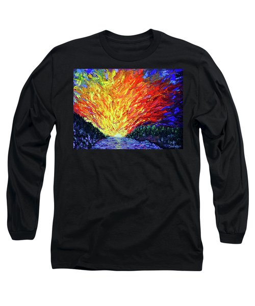 The Second Coming  Long Sleeve T-Shirt by Stan Hamilton
