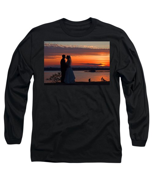 Sunset At Night A Wedding Delight Long Sleeve T-Shirt