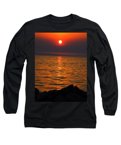 Long Sleeve T-Shirt featuring the photograph Sunset by Colette V Hera  Guggenheim