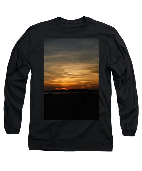 Long Sleeve T-Shirt featuring the photograph Sunset In Pastels by Fotosas Photography