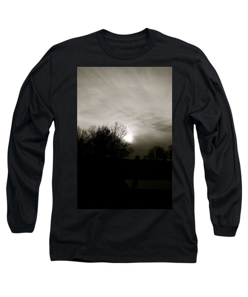 Long Sleeve T-Shirt featuring the photograph Sunset by Kume Bryant