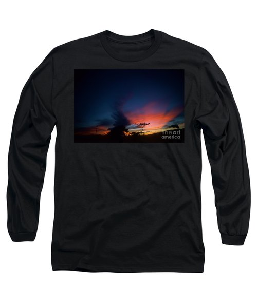 Sunset Leeward Oahu Long Sleeve T-Shirt