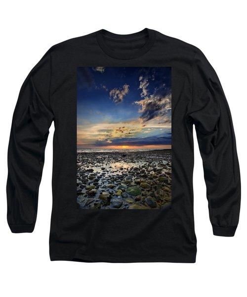 Sunset Over Bound Brook Island Long Sleeve T-Shirt