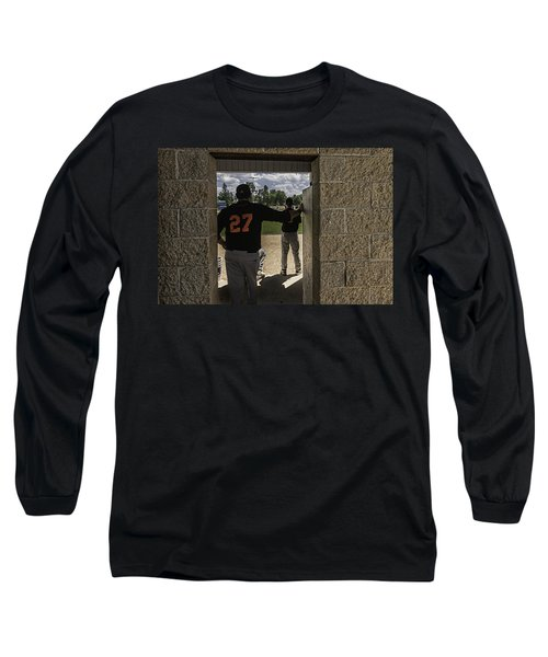 Long Sleeve T-Shirt featuring the photograph Sunshine And Moondogs by Tom Gort