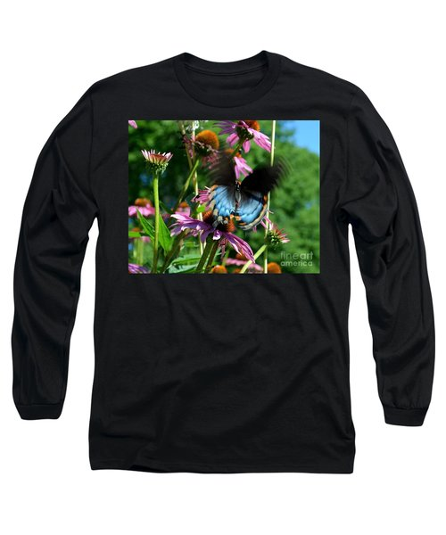 Swallowtail In Motion Long Sleeve T-Shirt