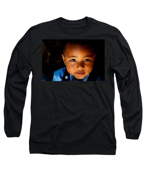 Sweet Baabu Long Sleeve T-Shirt by Valerie Rosen