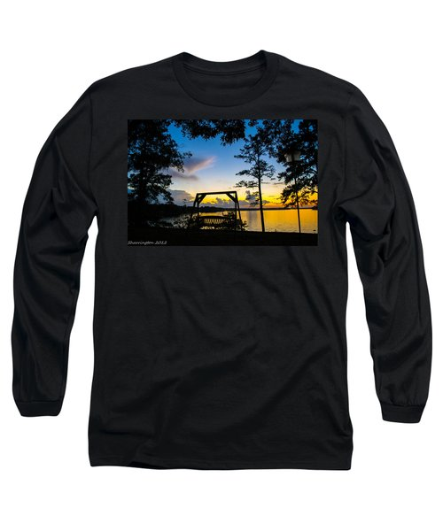 Swing Silhouette  Long Sleeve T-Shirt