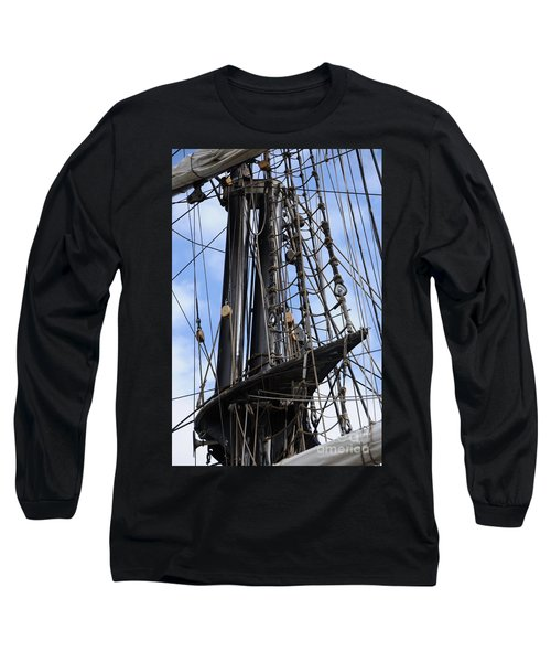 Tall Ship Mast Long Sleeve T-Shirt