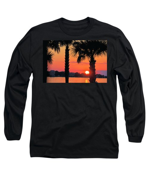 Long Sleeve T-Shirt featuring the photograph Tangerine Dream by Jan Amiss Photography