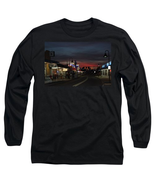 Long Sleeve T-Shirt featuring the photograph Tarpon Springs After Sundown by Ed Gleichman
