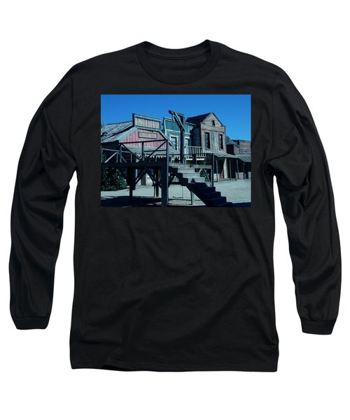 Taverna Western Village In Spain Long Sleeve T-Shirt