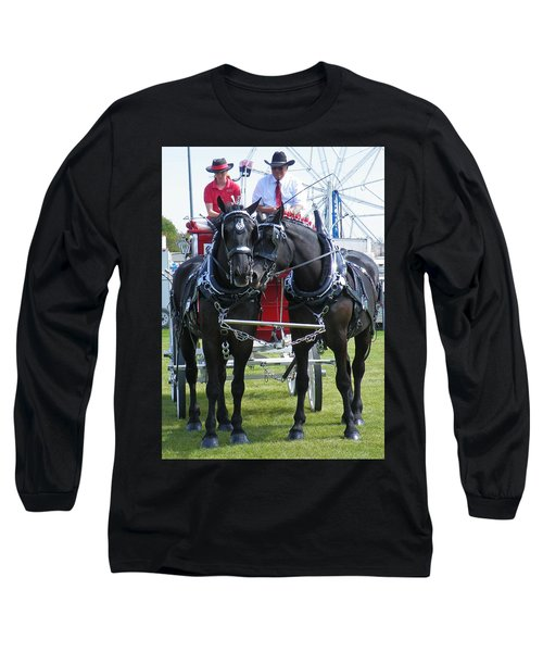 Long Sleeve T-Shirt featuring the photograph Tender Moment by Davandra Cribbie