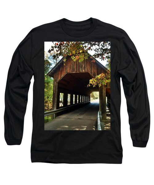 Long Sleeve T-Shirt featuring the photograph Tennesse Covered Bridge by Janice Spivey