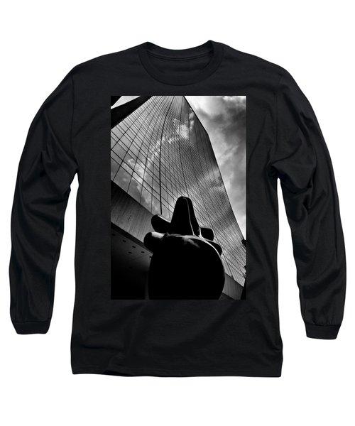 The Bull Never Sleeps Long Sleeve T-Shirt
