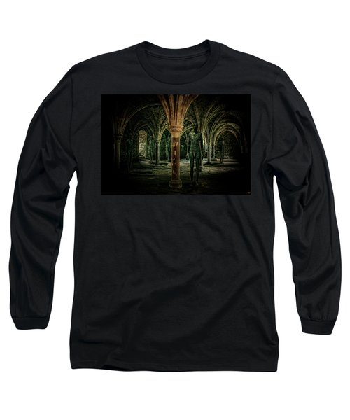 Long Sleeve T-Shirt featuring the photograph The Crypt by Chris Lord