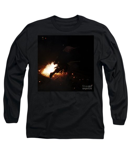 The Devil Of The Stairs Long Sleeve T-Shirt