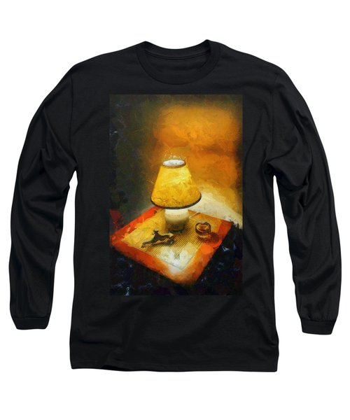 The Evening Lamp Long Sleeve T-Shirt