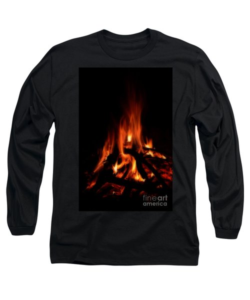 The Fire Long Sleeve T-Shirt by Donna Greene