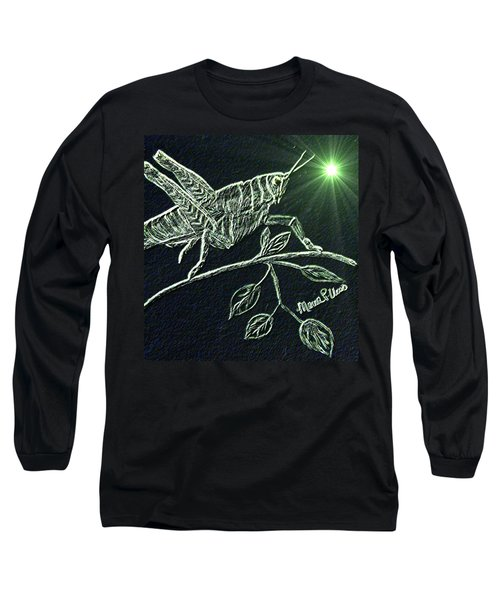 The Grasshopper Long Sleeve T-Shirt by Maria Urso