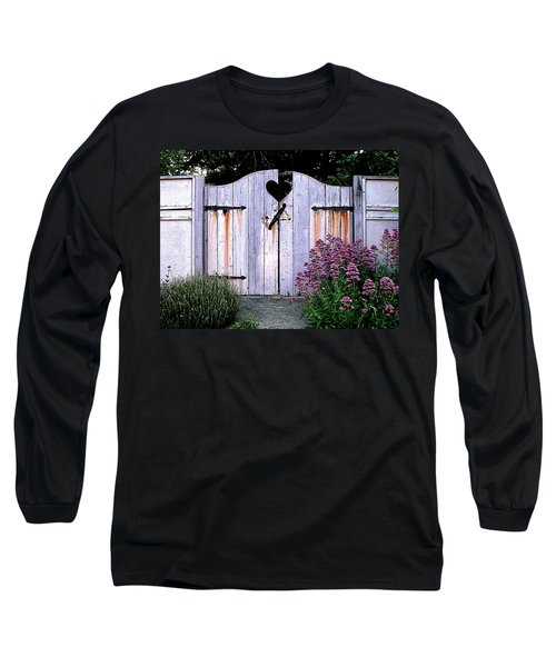 The Heart, Like An Old Gate Needs Care And Attention Long Sleeve T-Shirt
