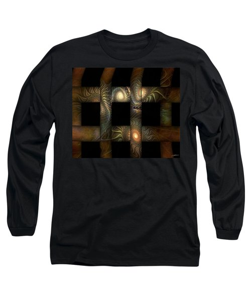 Long Sleeve T-Shirt featuring the digital art The Indomitability Of The Idea by Casey Kotas