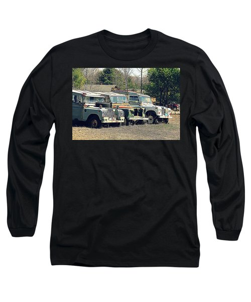 The Land Rover Graveyard Long Sleeve T-Shirt